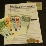 LGUSA Quittung Bargeld